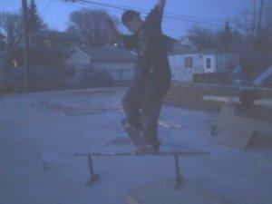 Jess skating